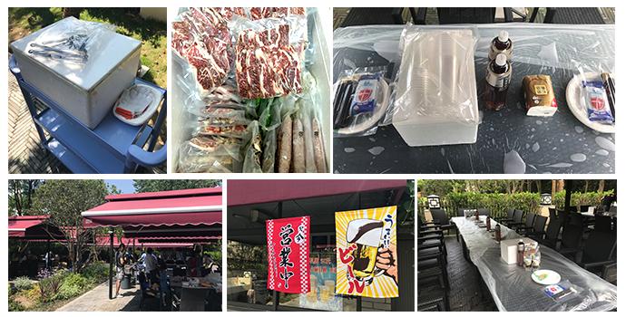 上海バーベキュー宅配は準備をお客様の代わりにいたします。